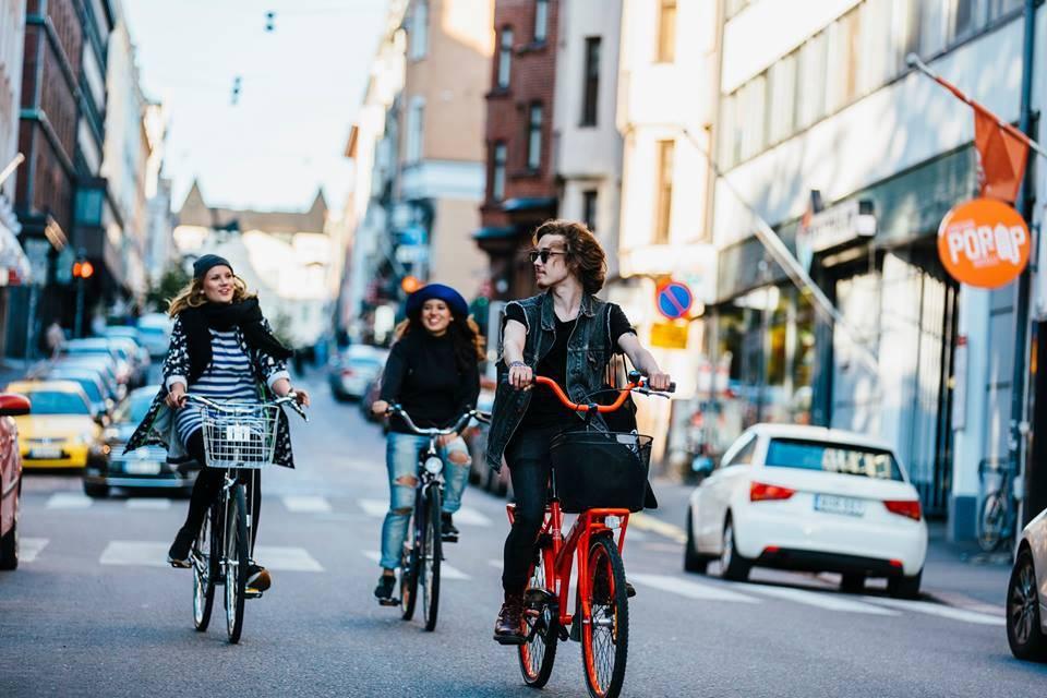 На велосипеде по финляндии: инструкция по применению