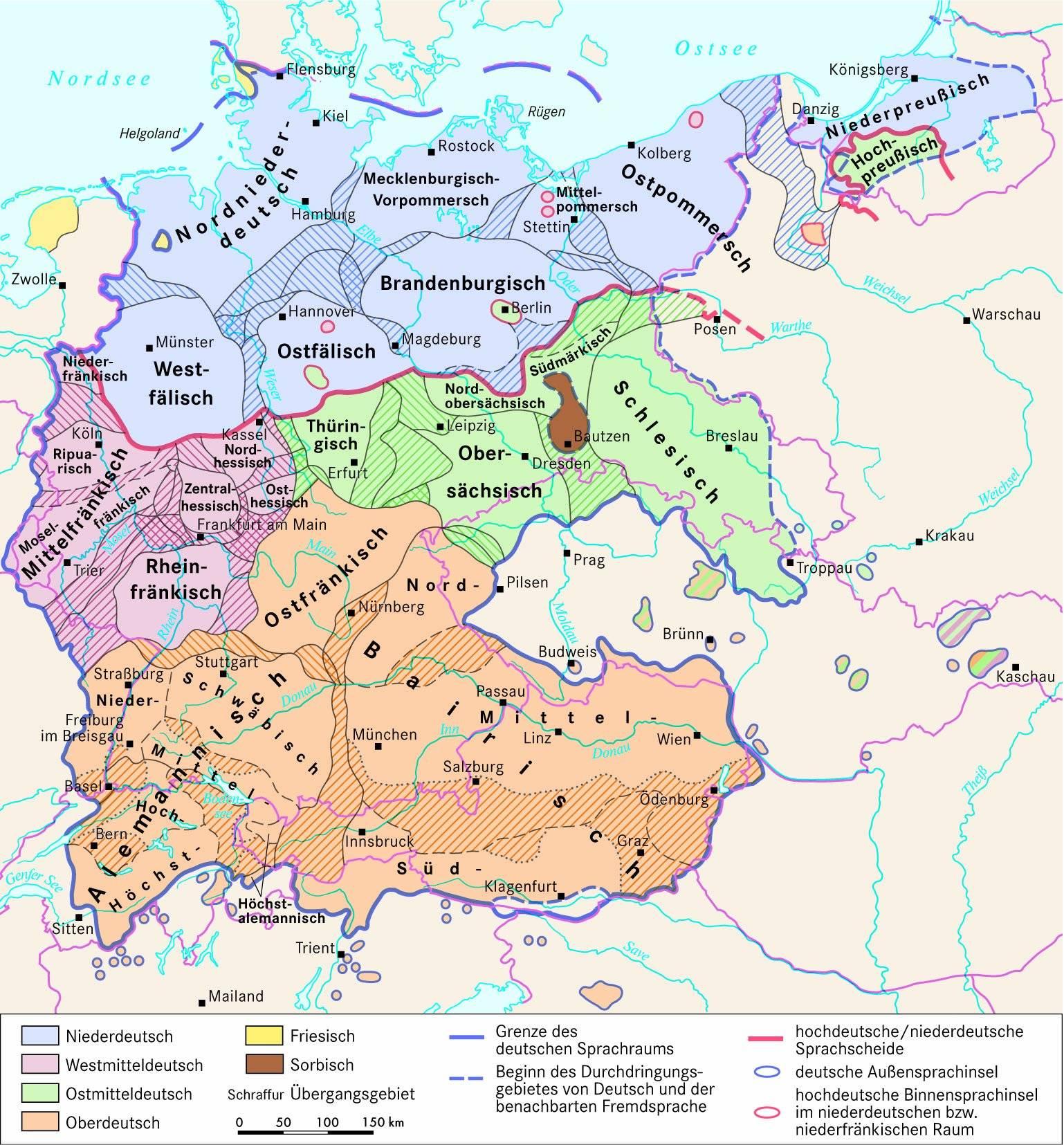 В каких странах говорят на немецком языке кроме германии?