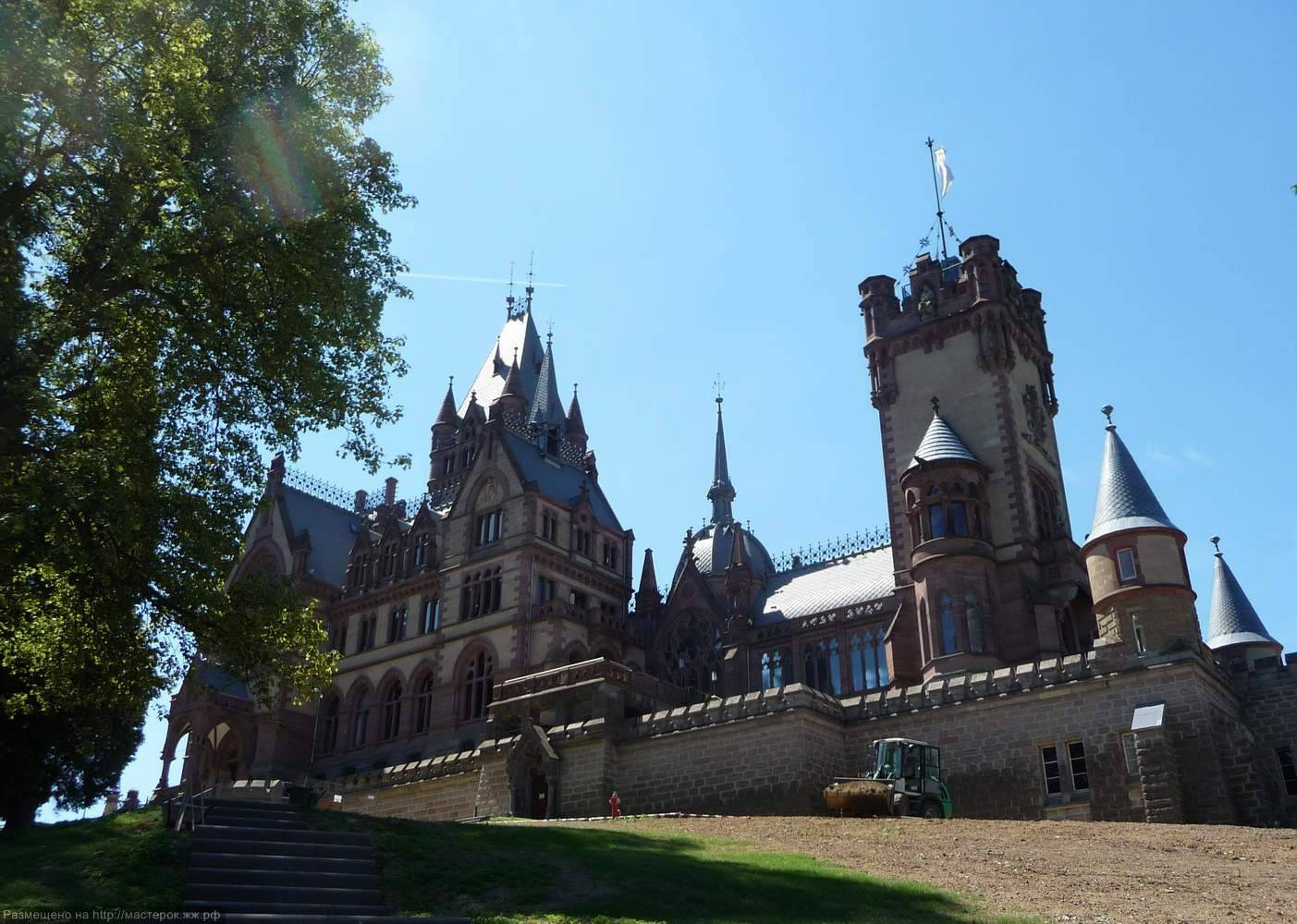 Замок драхенбург (schloss drachenburg) - замки германии