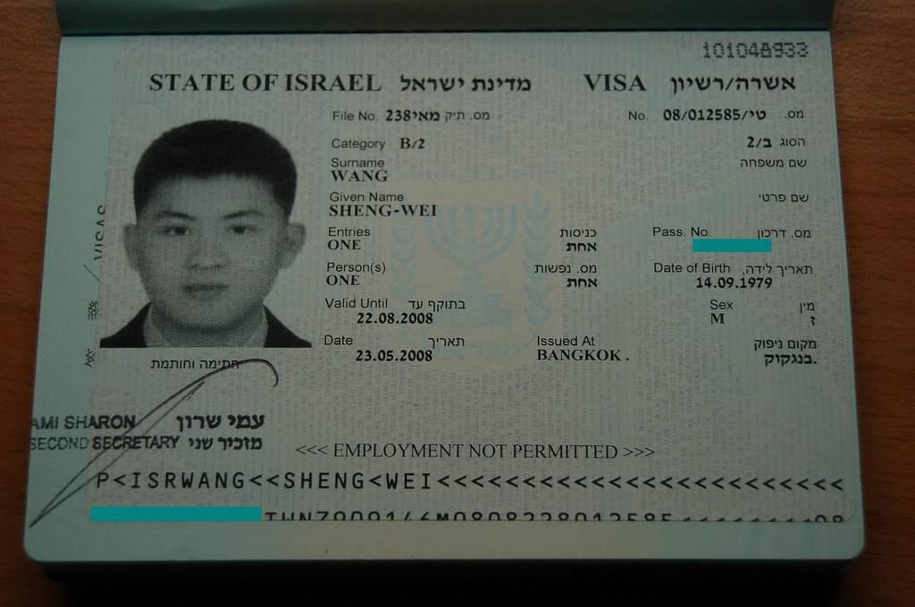 Как получить визу в израиль для россиян