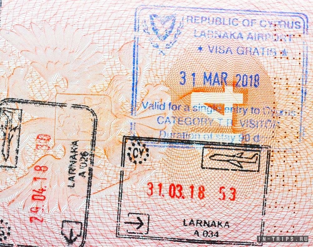 Виза на кипр для россиян 2021: как оформить самостоятельно