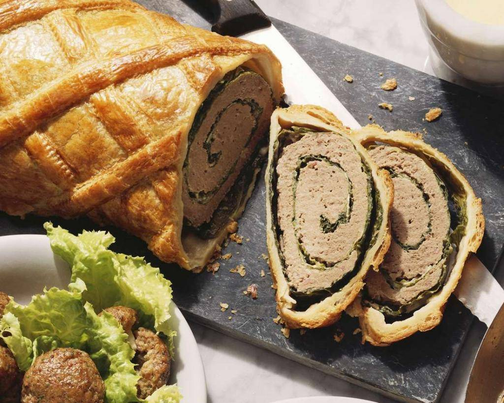 Немецкие штрудели с мясом и картошкой: рецепт с фото