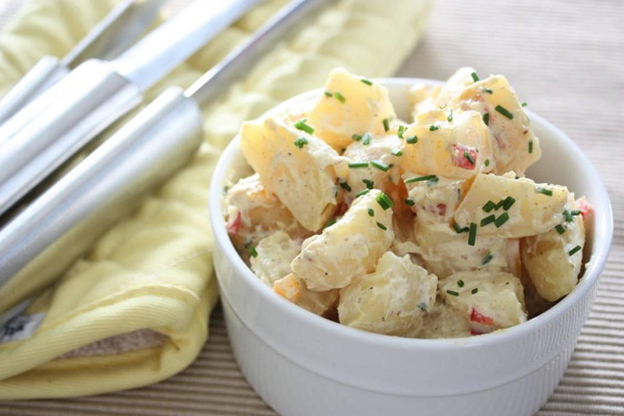 Картофельный салат по-американски и по-немецки