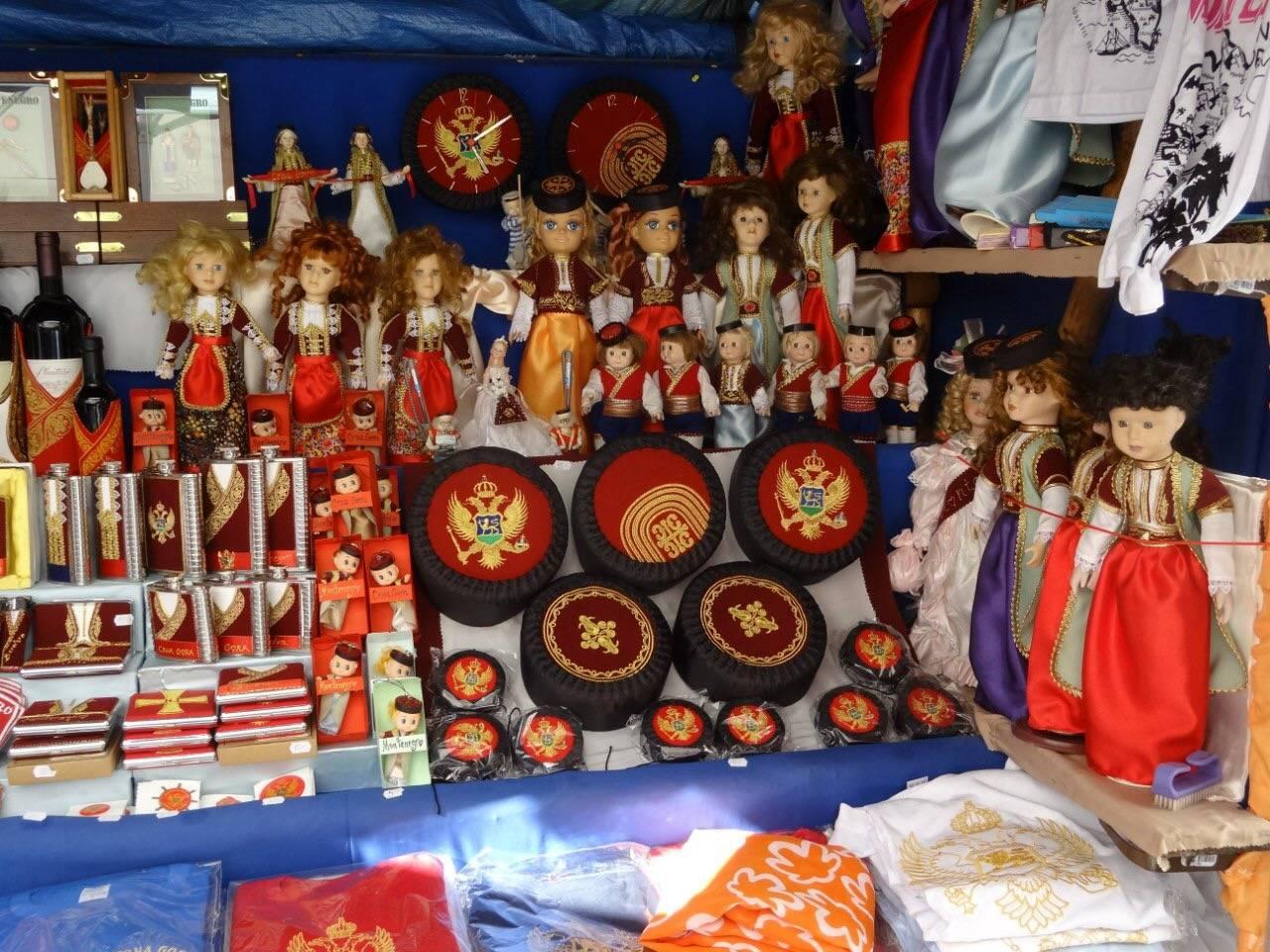 Какие сувениры в черногории лучше купить и где приобрести