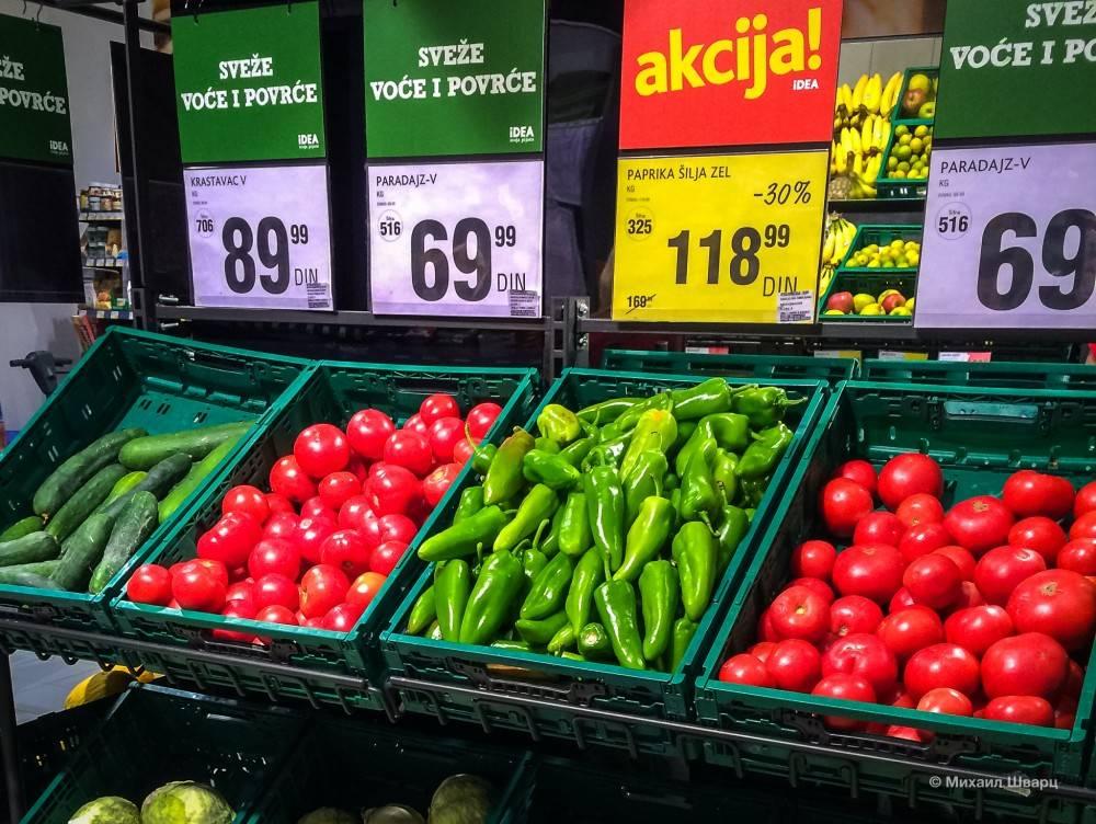Цены в боснии и герцеговине на продукты, транспорт и другие вещи.