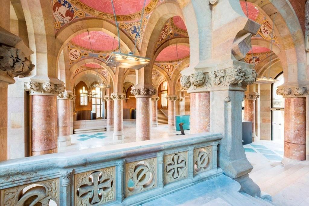Госпиталь сан-пау: архитектурное чудо барселоны - барселона тм