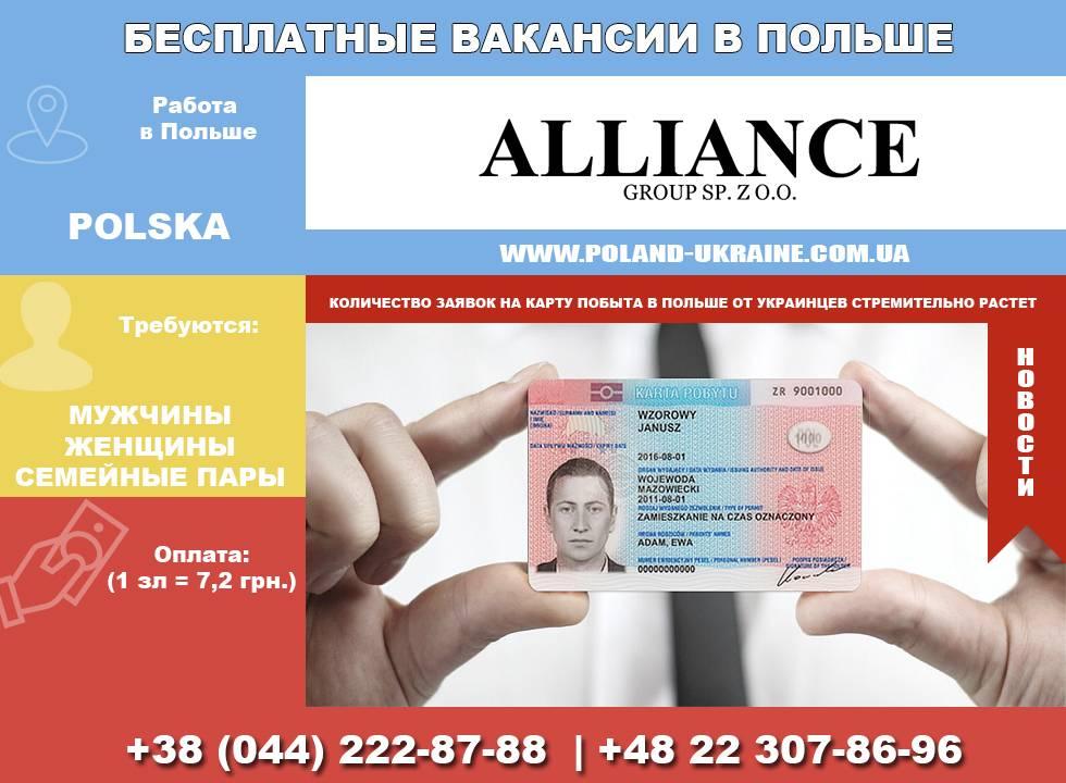 Работа в польше для русских | immigration-online.ru