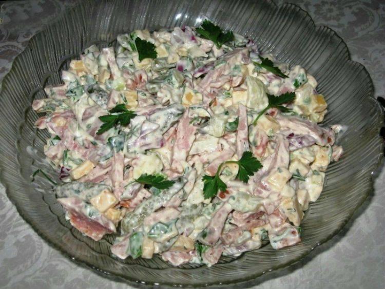Рецепт: салат мюнхенский