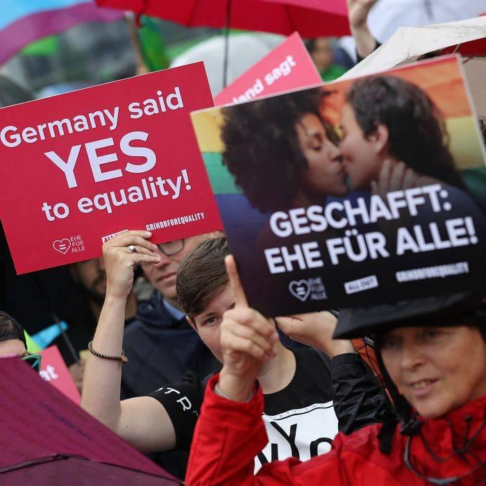 Однополые браки в европе: в каких странах разрешены по закону