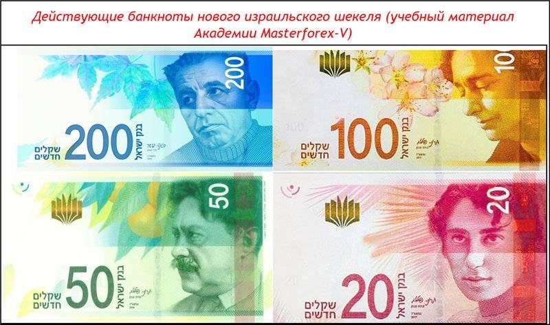 Курс израильского шекеля к рублю на сегодня