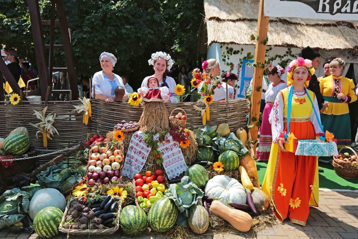 Erntedankfest — немецкий фестиваль урожая