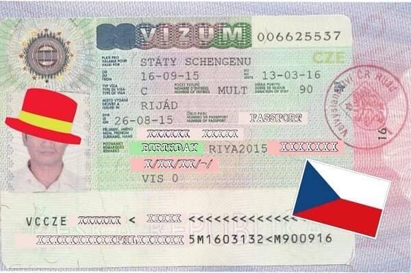 Оформление гостевой визы в чехию: документы, стоимость