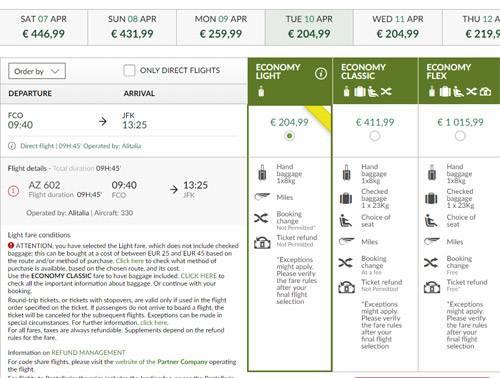 Багаж на рейсах alitalia: нормы и правила провоза | europe avia