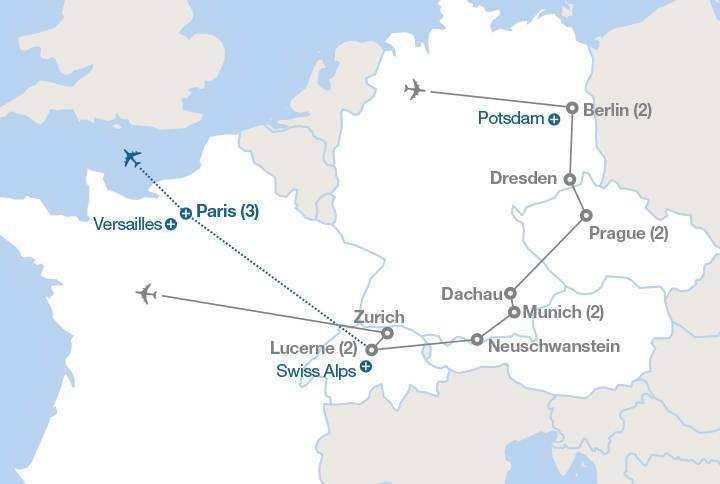 Поездка из дрезден в берлин