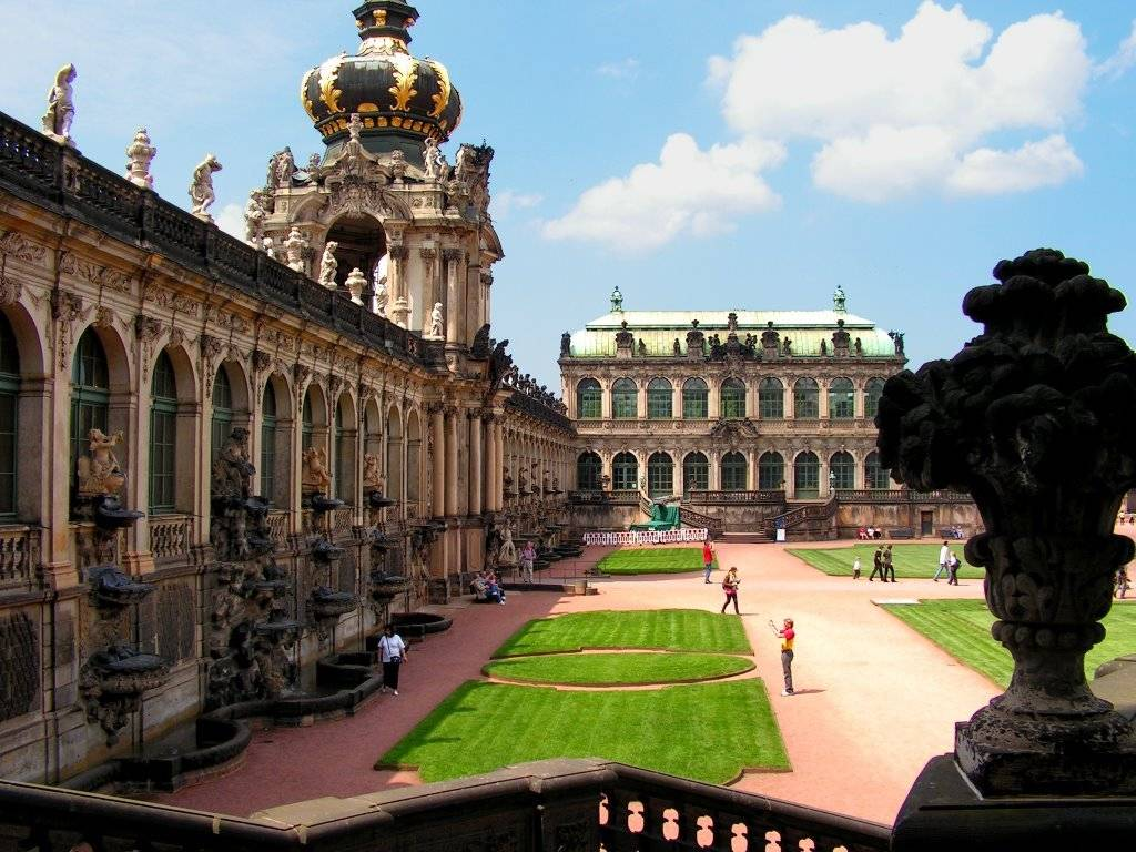Цвингер: архитектурные и художественные шедевры барокко в дрездене