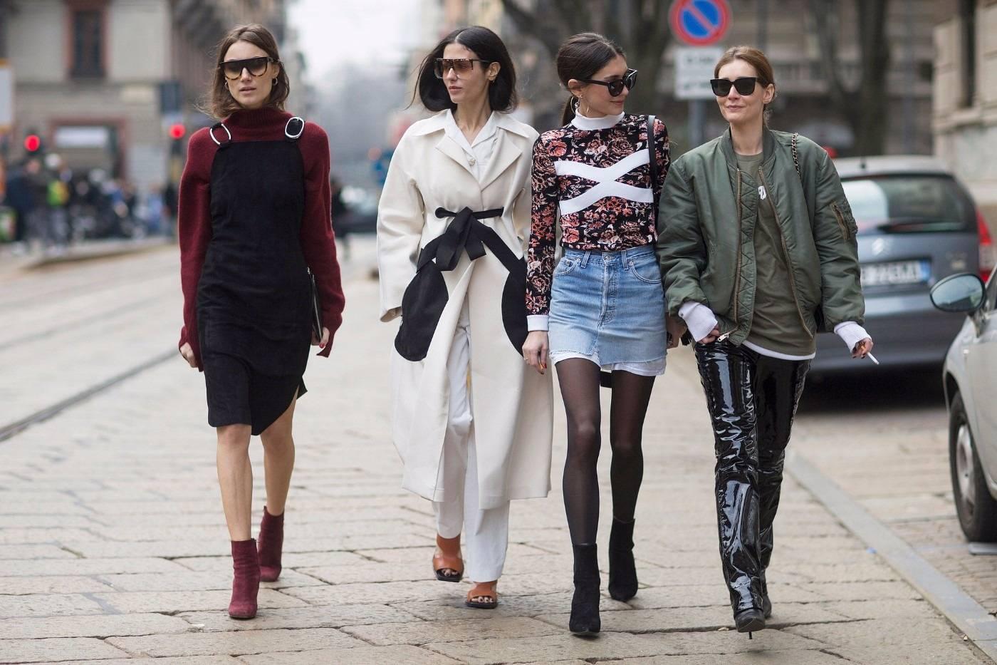 Я ходила по мюнхену и удивлялась тому, как зимой одеваются местные женщины