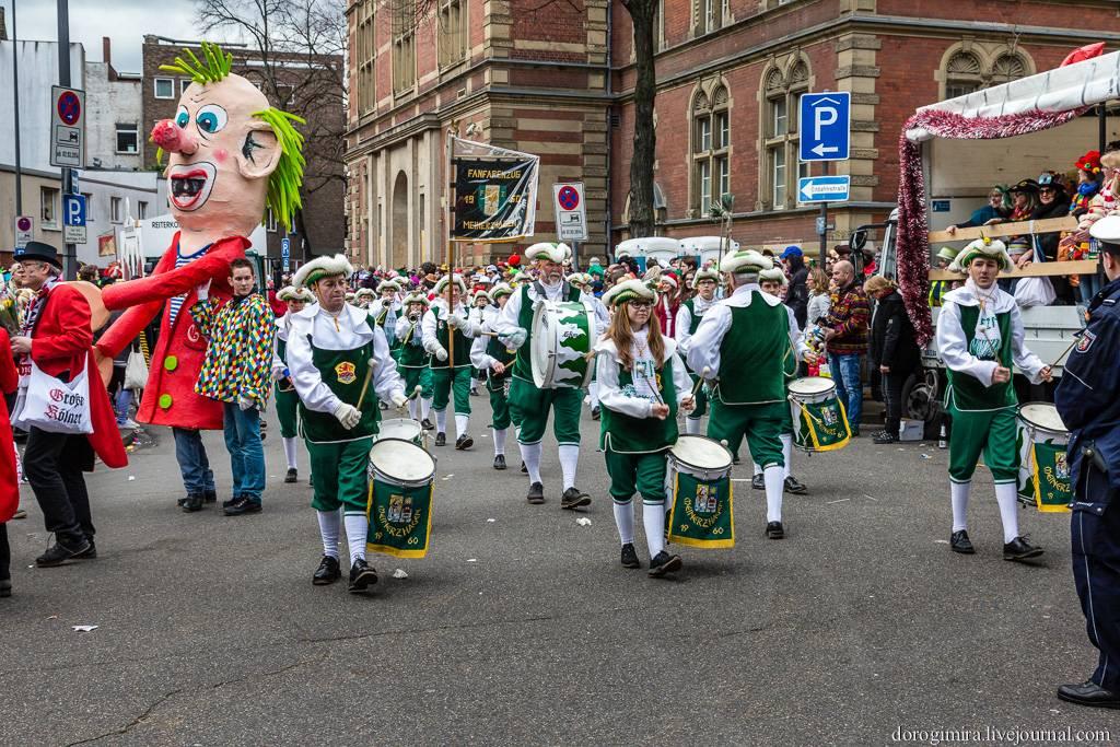 Кёльнский карнавал - визитная карточка города, групповые и индивидуальные туры в кельн