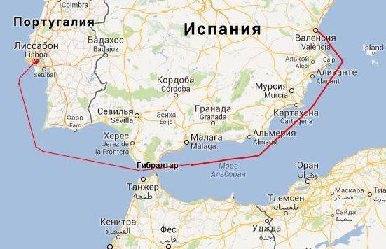 Как лучше организовать маршрут андалузия - португалия с 27.03 по 11.04 2012года