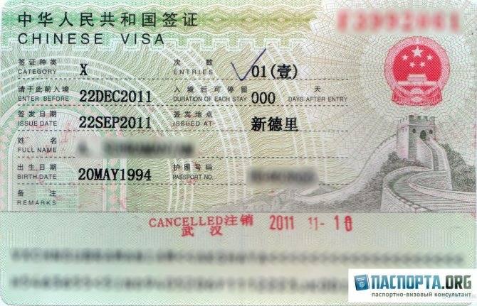 Виза в китай: как получить россиянам в 2021 году