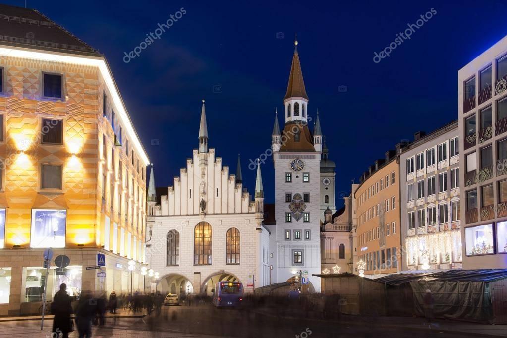 Немецкий город мюнхен