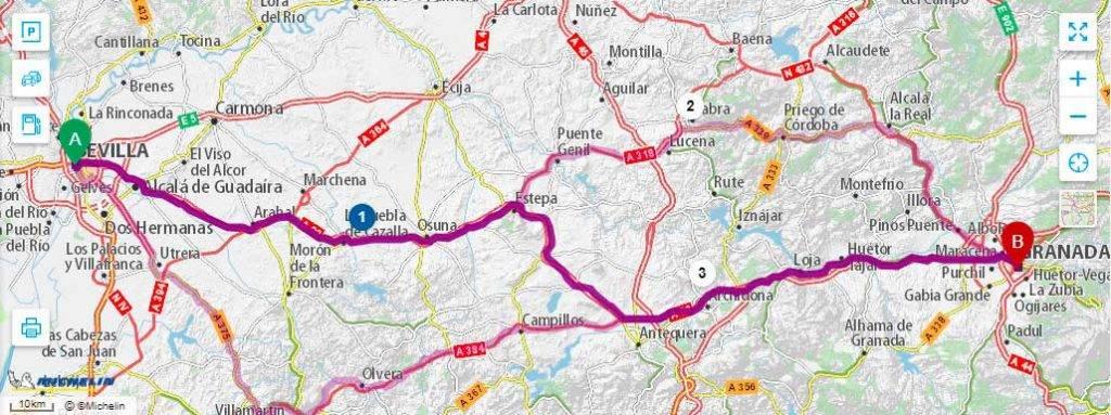 Пункт назначения Гранада: как добраться из Севильи