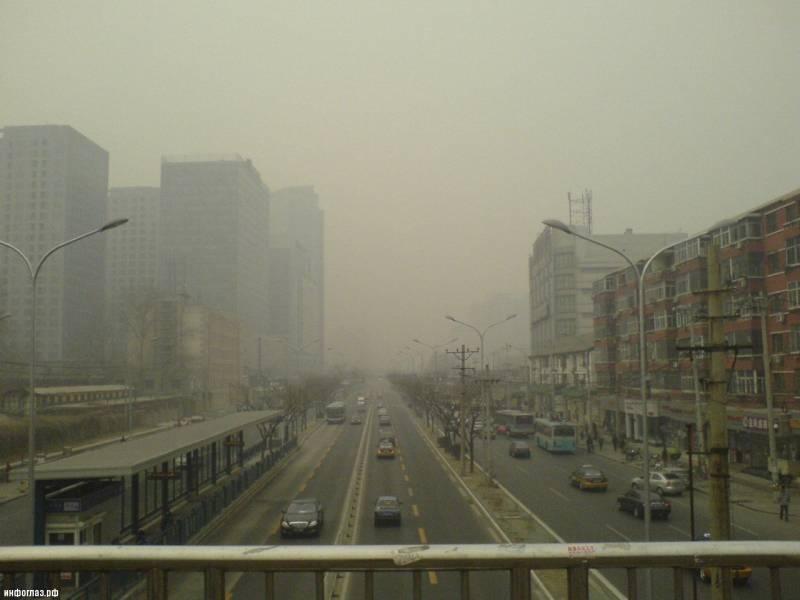 Загрязнение воздуха в китае уже убивает людей: новое исследование