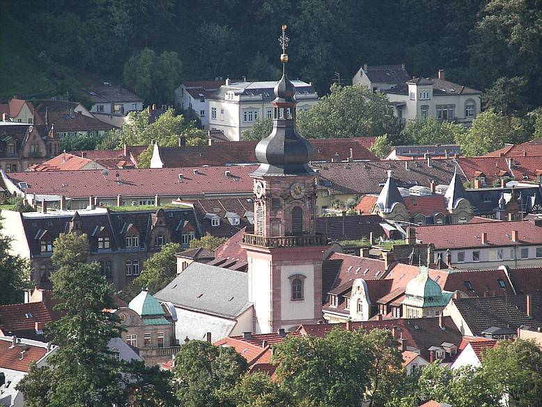 Храмы, соборы и мечети в Гейдельберге, которые сохранились до наших дней