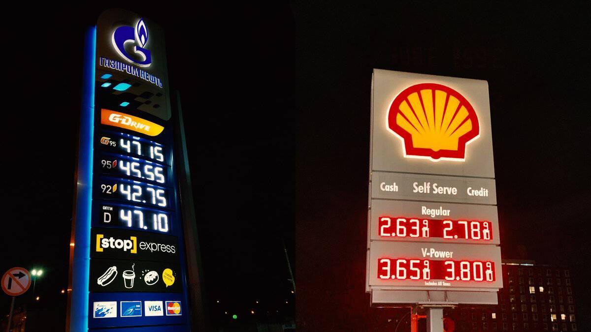 Цена бензина в сша и россии — как повлиял кризис у нас и у них
