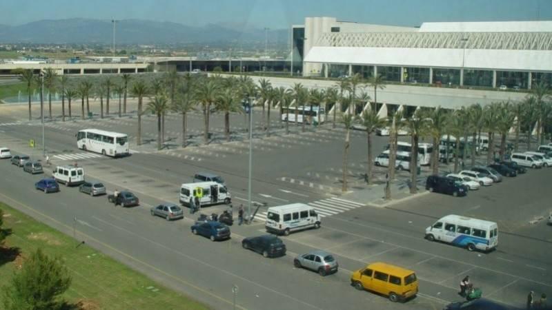 Невероятный современный аэропорт пальма-де-майорка
