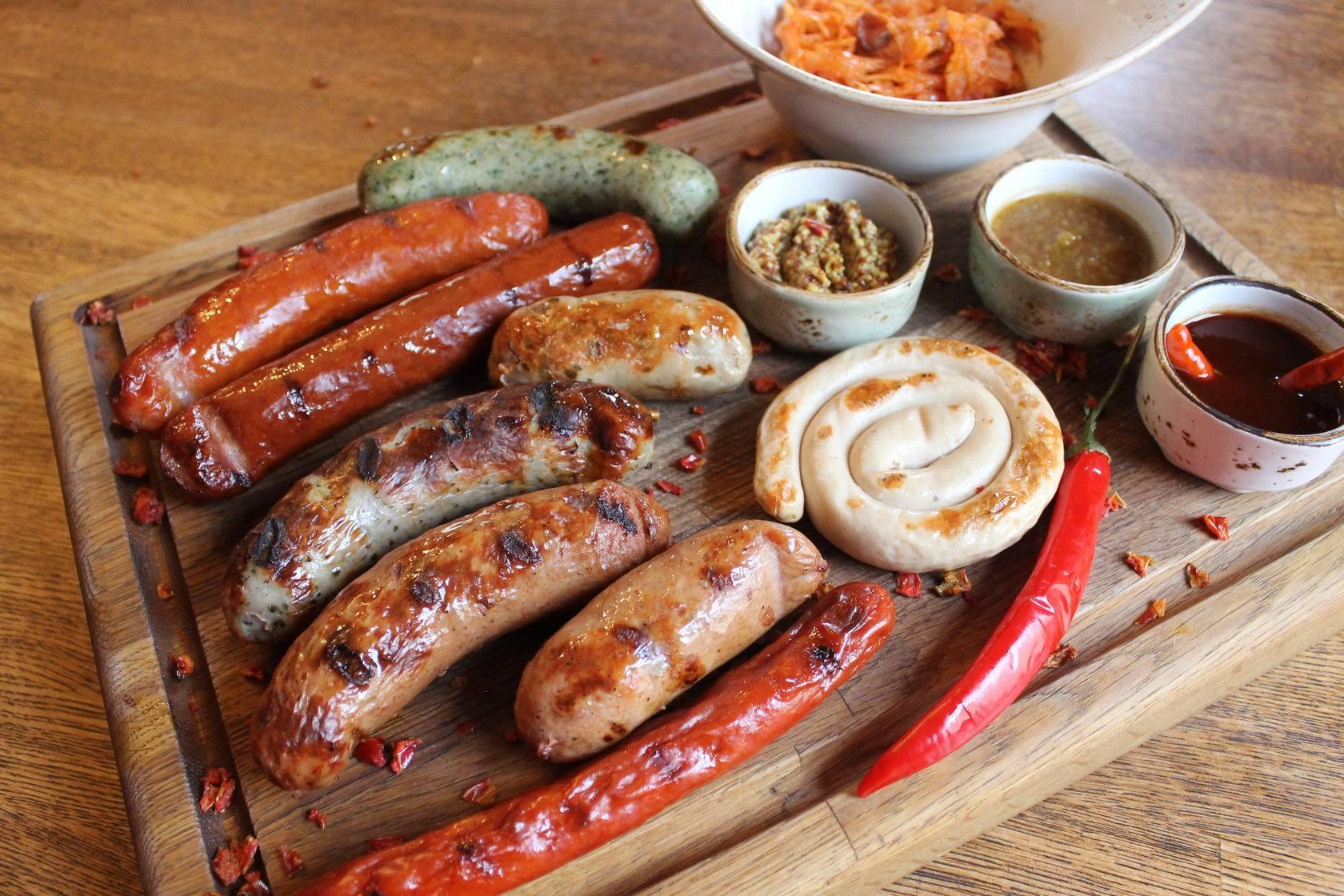 Колбаса нюрнбергская. как готовятся настоящие нюрнбергские колбаски