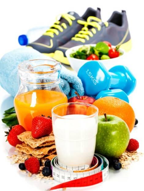 Здоровый образ жизни. mode de vie saine