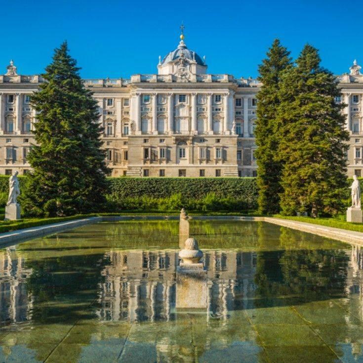 Королевский дворец в мадриде – роскошная резиденция в центре столицы