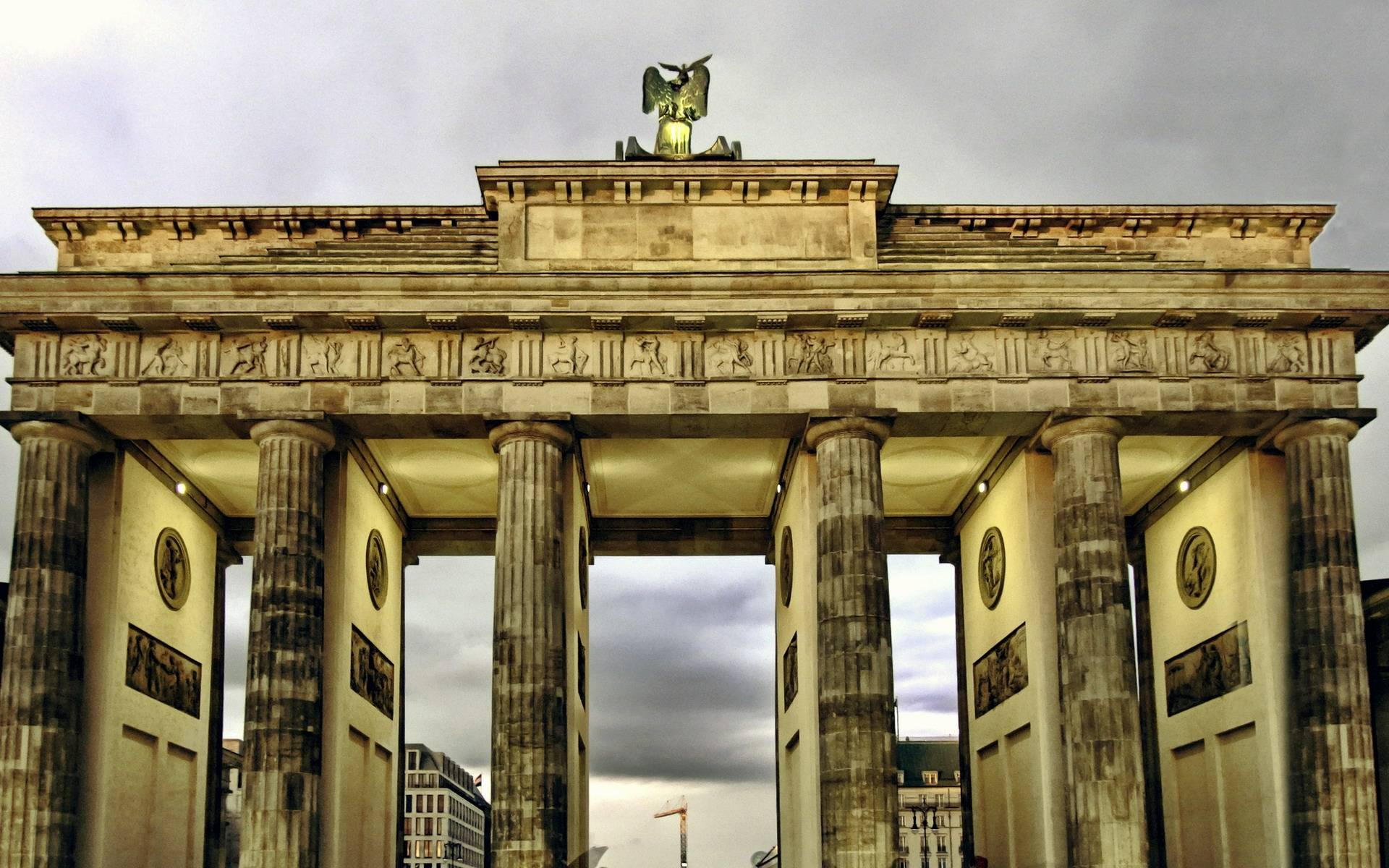 Бранденбургские ворота в берлине - история, фото, адрес на карте