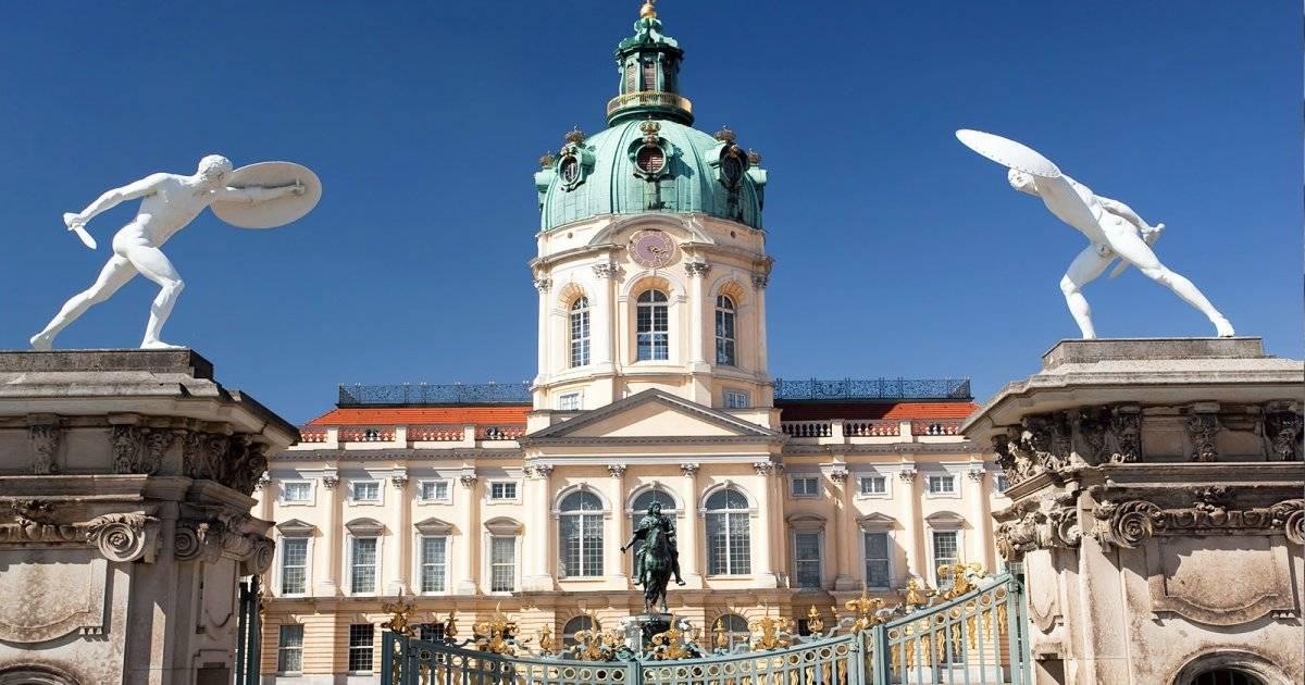 Замок шарлоттенбург – изысканное наследие немецкого барокко