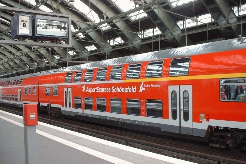 Все способы добраться из аэропорта шёнефельд в центр берлина