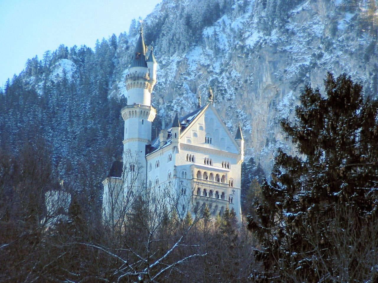 Замок нойшванштайн – романтический дворец баварского короля