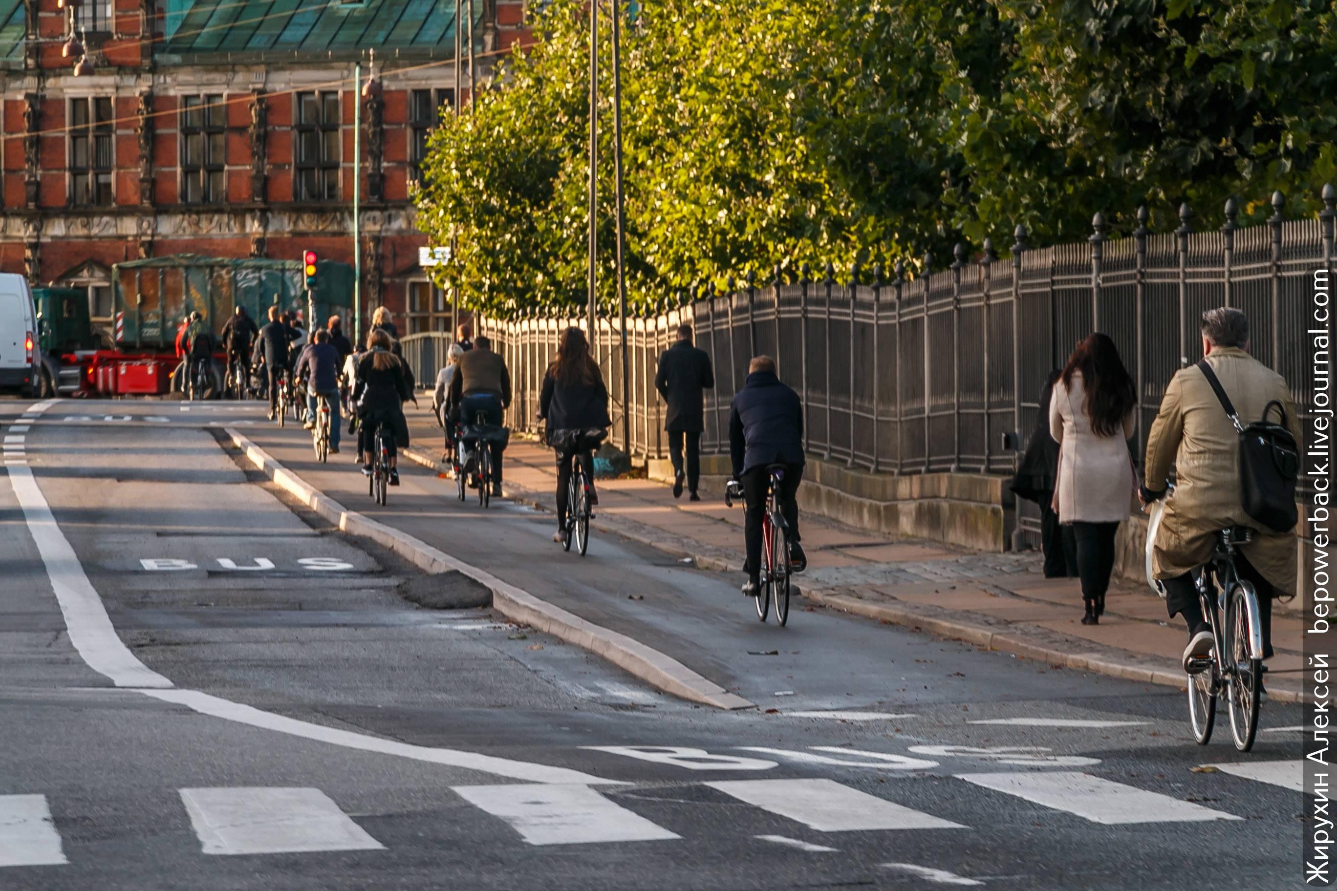 Правила движения для велосипедистов в германии