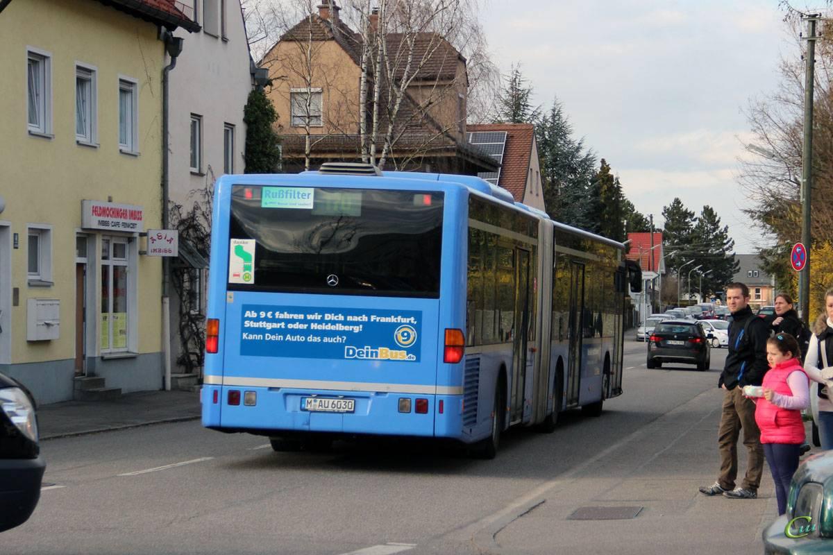 Общественный транспорт в мюнхене