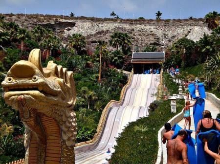 Аквапарк siam park (сиам парк) на тенерифе в лас америкасе в испании