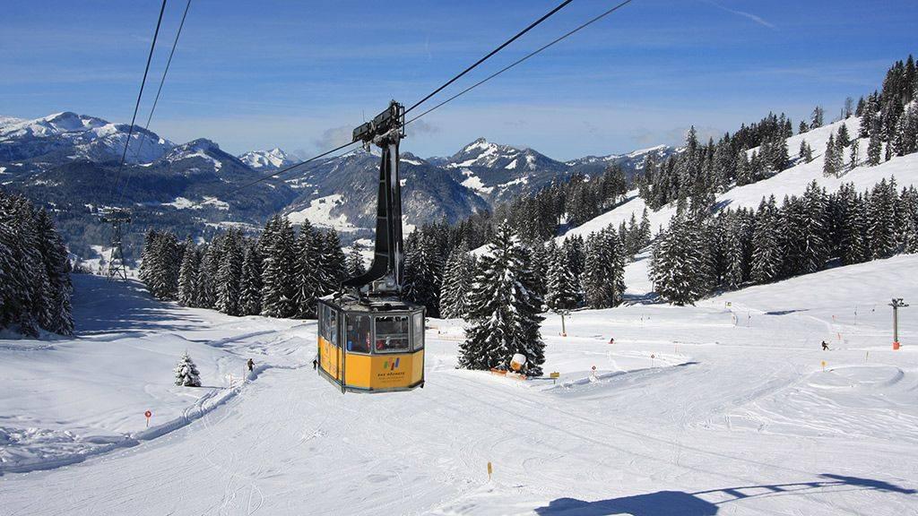 Лучшие горнолыжные области и курорты в германии