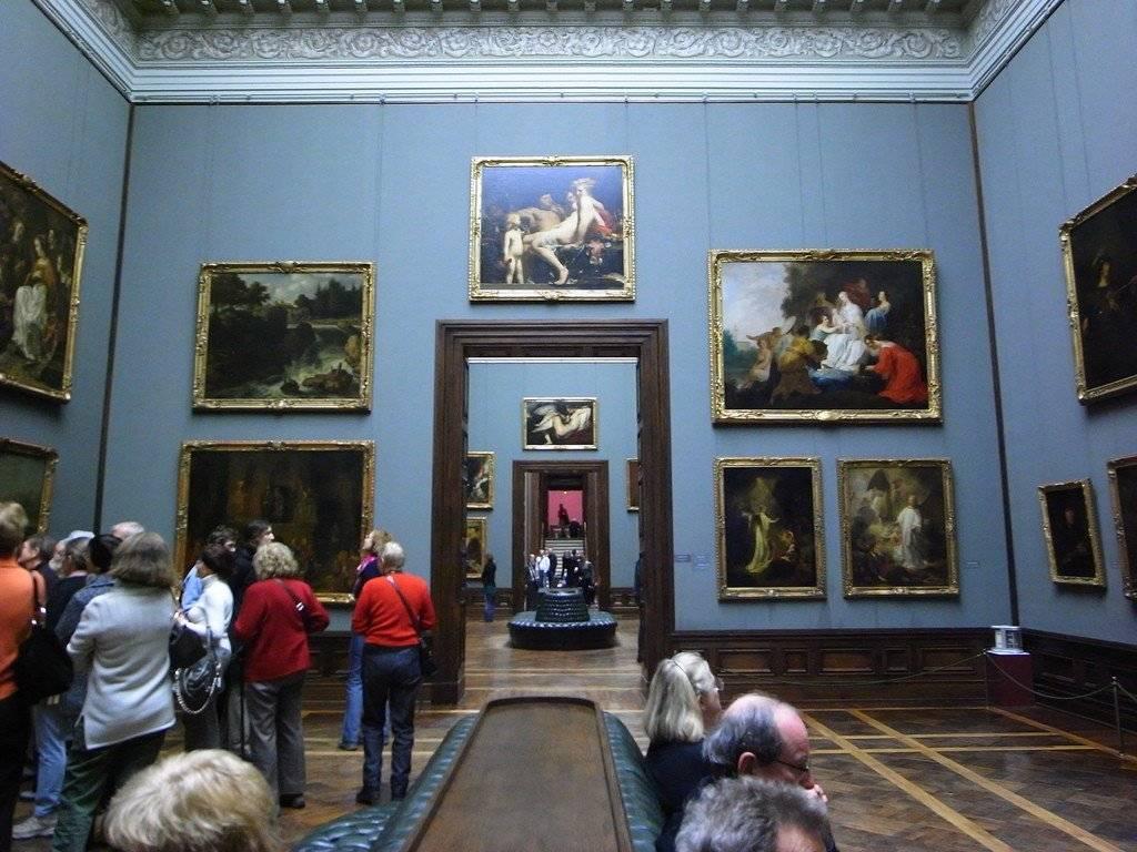 Дрезденская галерея. музеи цвингера.
