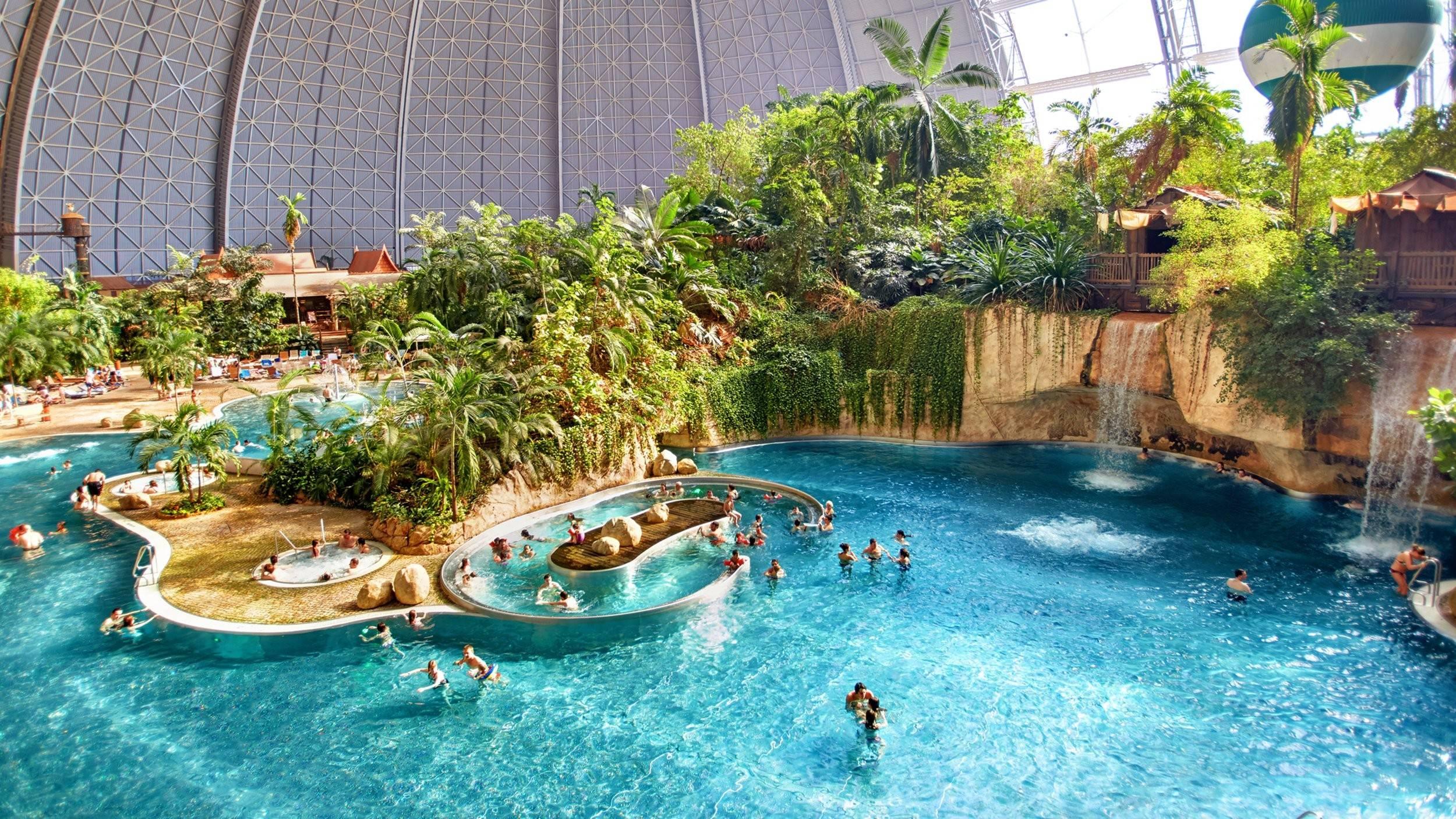 """Аквапарк в берлине """"тропические острова"""" - как добраться, цена"""