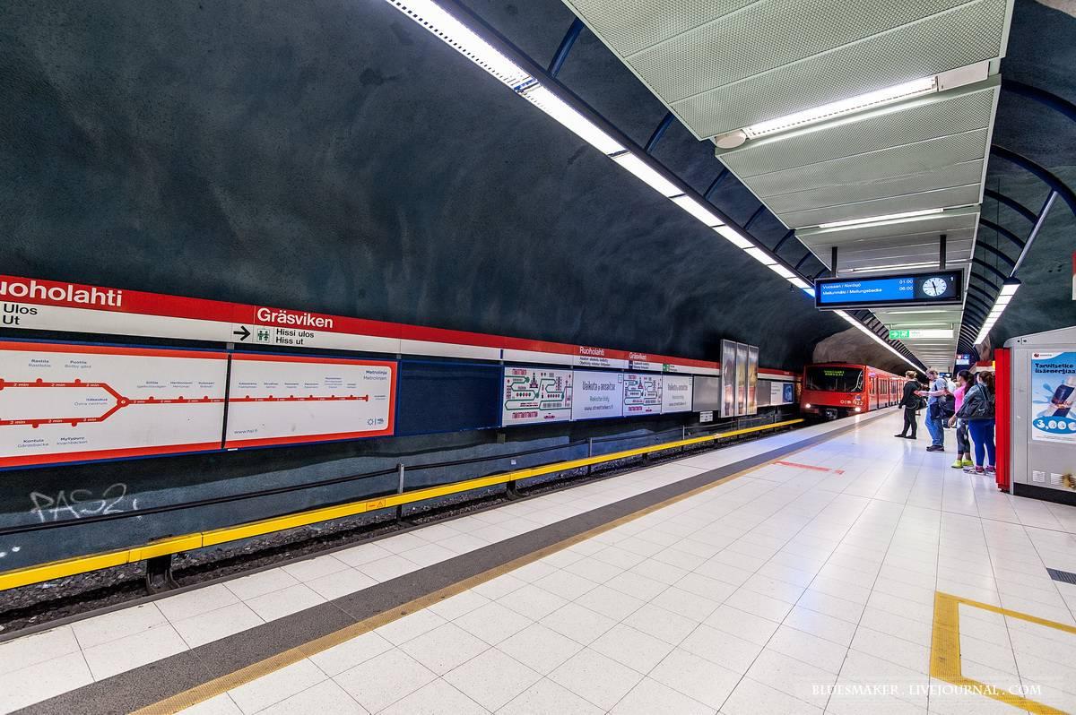 Хельсинкский метрополитен — википедия