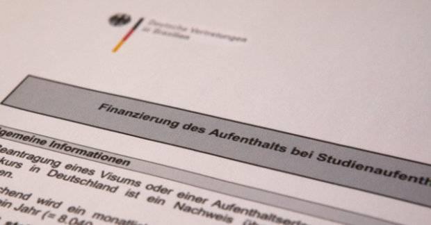 Sperrkonto, открыть блокированный счет в германии в немецком банке deusche bank