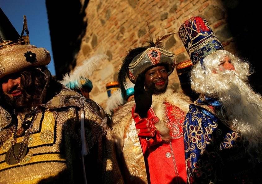Как празднуется испанский день трех королей