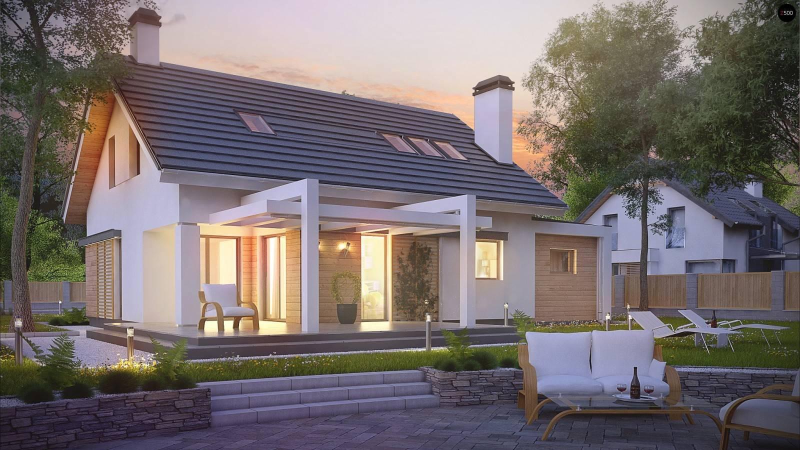 Проекты двухэтажных домов в польском стиле. проекты польских домов и коттеджей