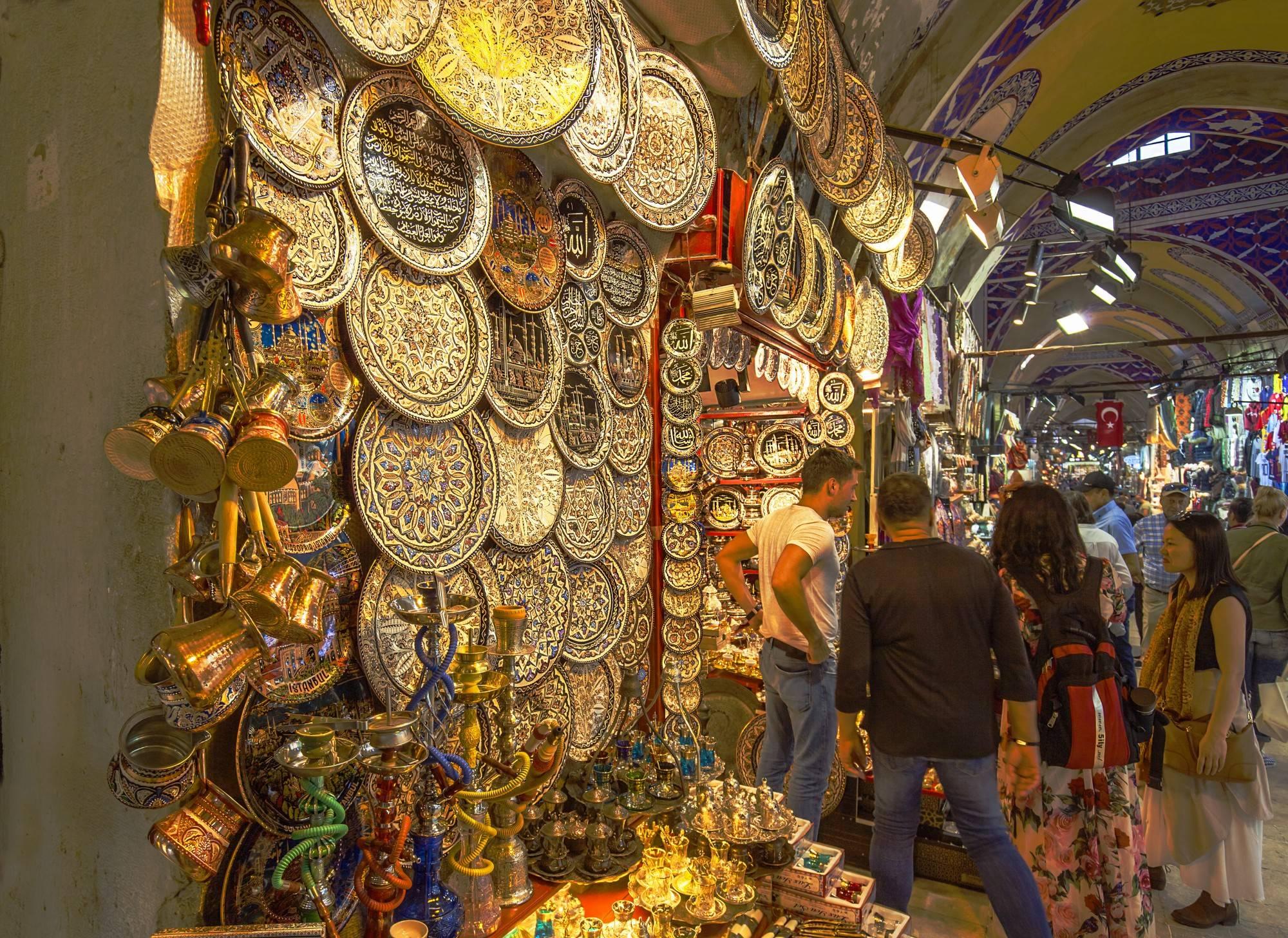 Гранд-базар:путеводитель по стамбулу