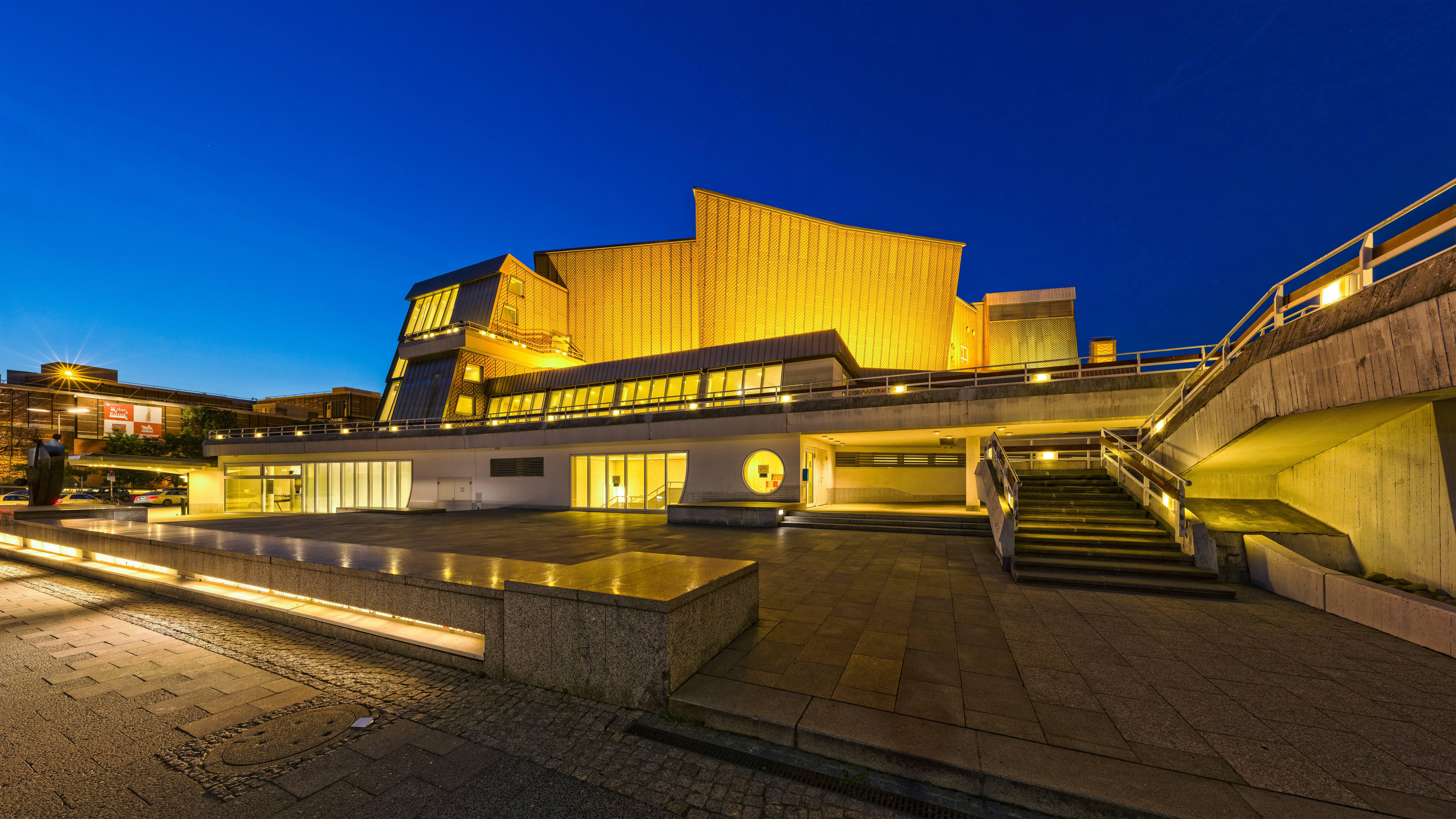 Берлинская филармония (berliner philharmonie) | belcanto.ru