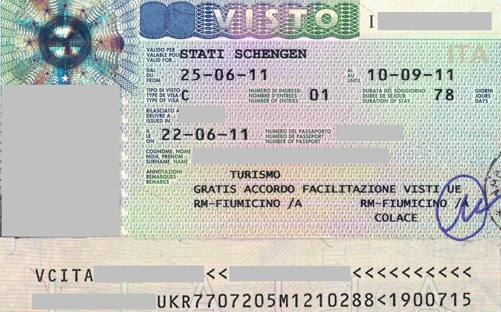 Самостоятельное оформление визы в италию 2021 — документы, анкета, стоимость, визовые центры на туристер.ру
