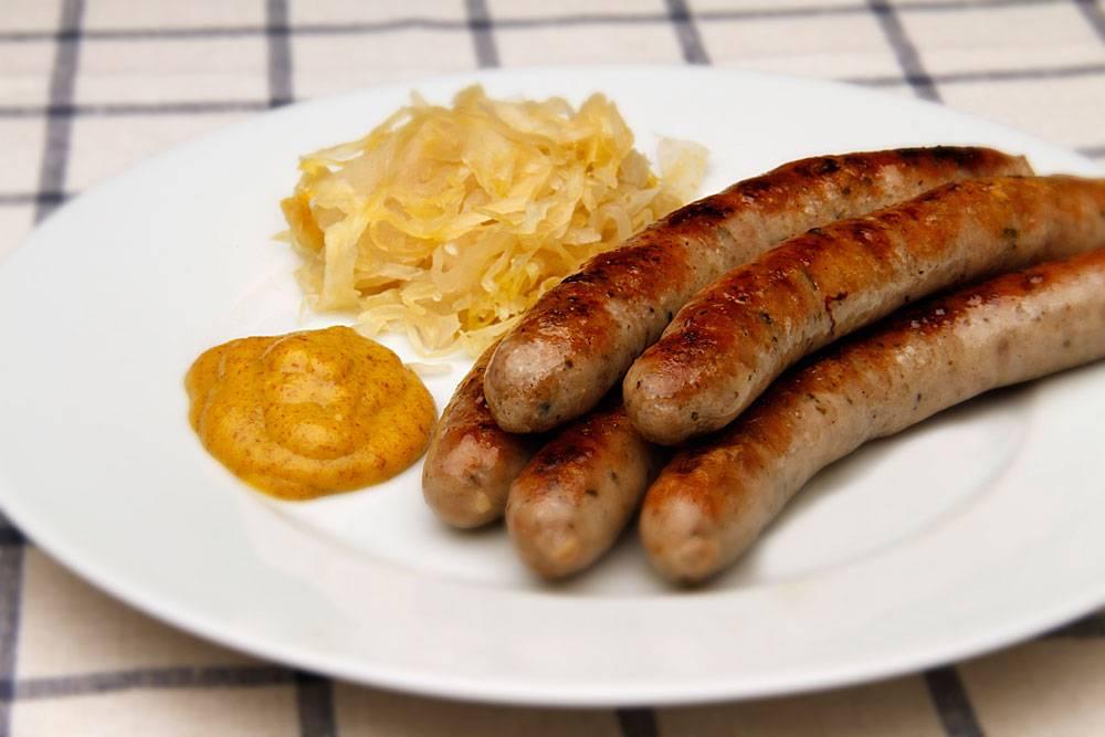 Рецепт нюрнбергские колбаски. как готовятся настоящие нюрнбергские колбаски